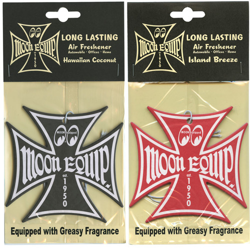 Moon Equipped Iron Cross Air Freshener [ MG076I ]