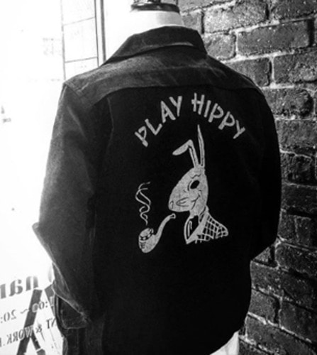 PLAY HIPPY JACKET (BLACK)