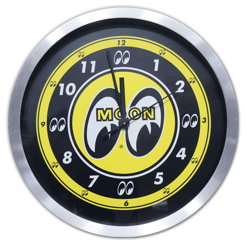 MOON Aluminum Wall Clock [ MG733 ]