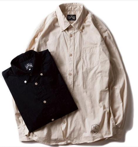 "L/S SHIRT ""ROYAL"" (2 TYPE)"