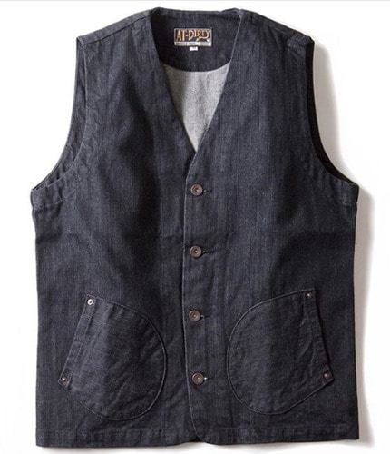 WORKERS VEST (DENIM)