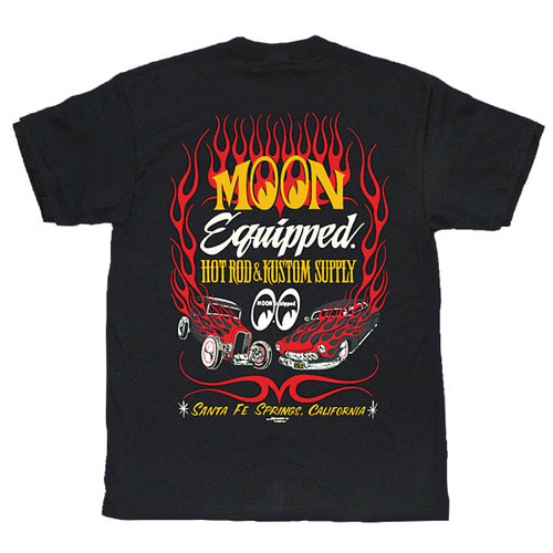 HOT ROD & KUSTOM SUPPLY T-Shirts [ MQT084BK ]