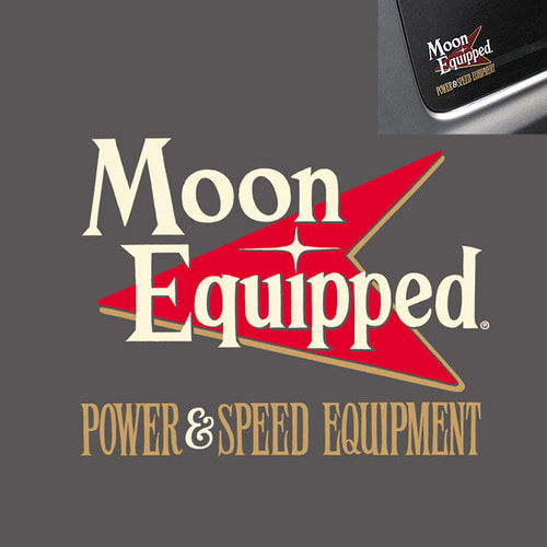 MOON Equipped Power & Speed Equipment Sticker [ MQD030 ]