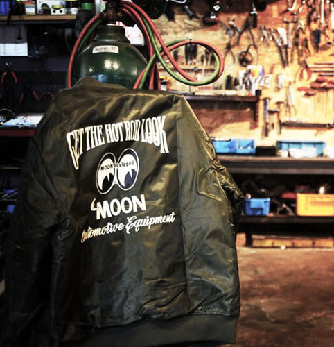MOON Equipped MA-1 Jacket [ MQW030 ]