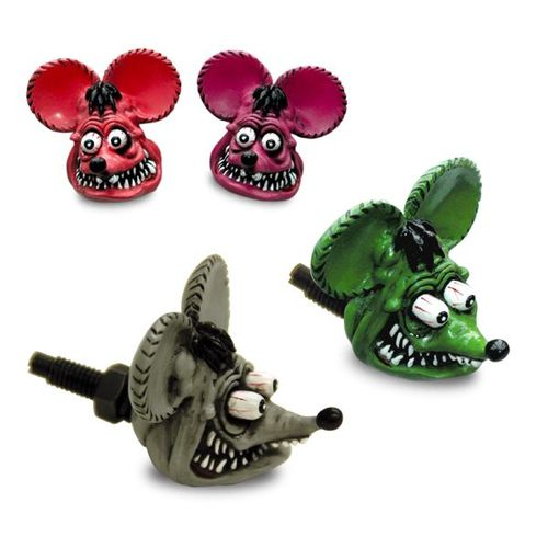 Rat Fink Head License Bolts [ RAF264 ]