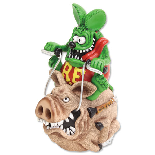 Rat Fink Hog Ride Coin Bank [ RAF436 ]