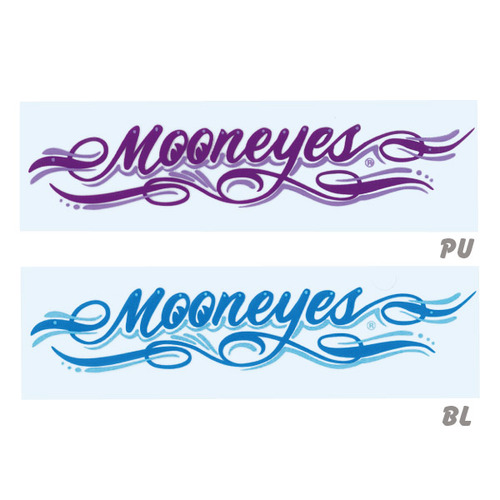 MOONEYES Pinstripe Sticker [ DM174 ]