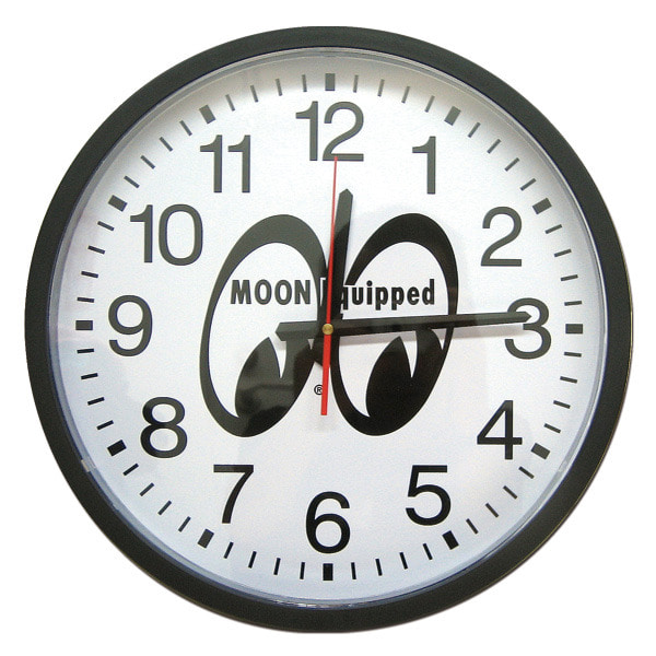 "MOON Equipped Giant Wall Clock 16 "" [ MQG053 ]"