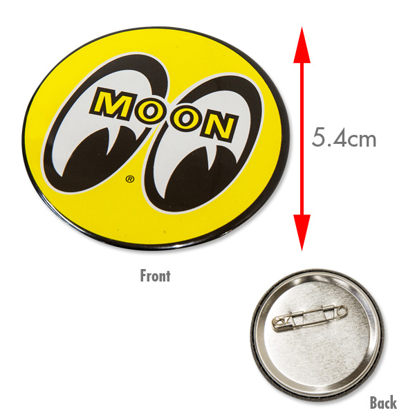 MOON Can Badge 5.4 cm [ MGX007 ]