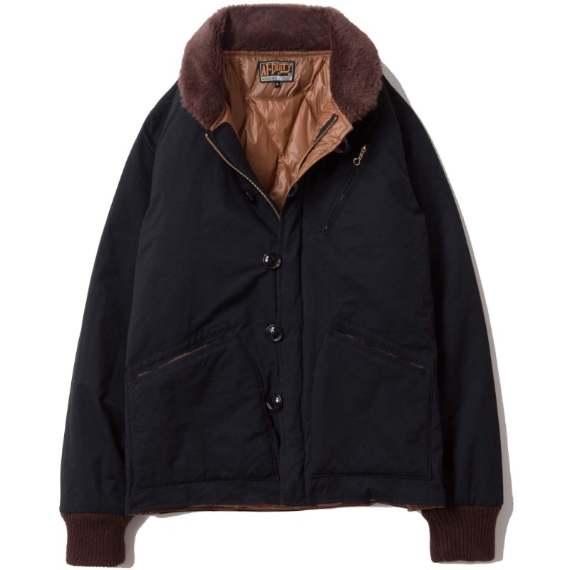 DECK DOWN JACKET (BLACK)