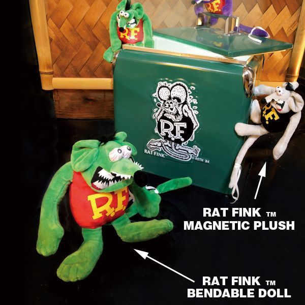Rat Fink Bendable Doll [RAF523]