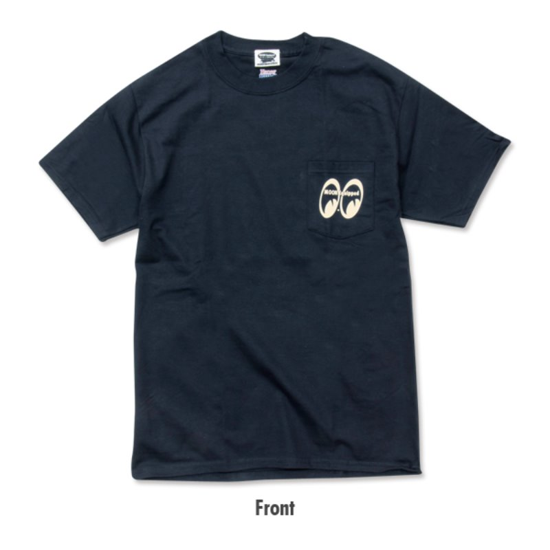 MOON Equipped T-Shirt with Pocket [MQT002BKP]