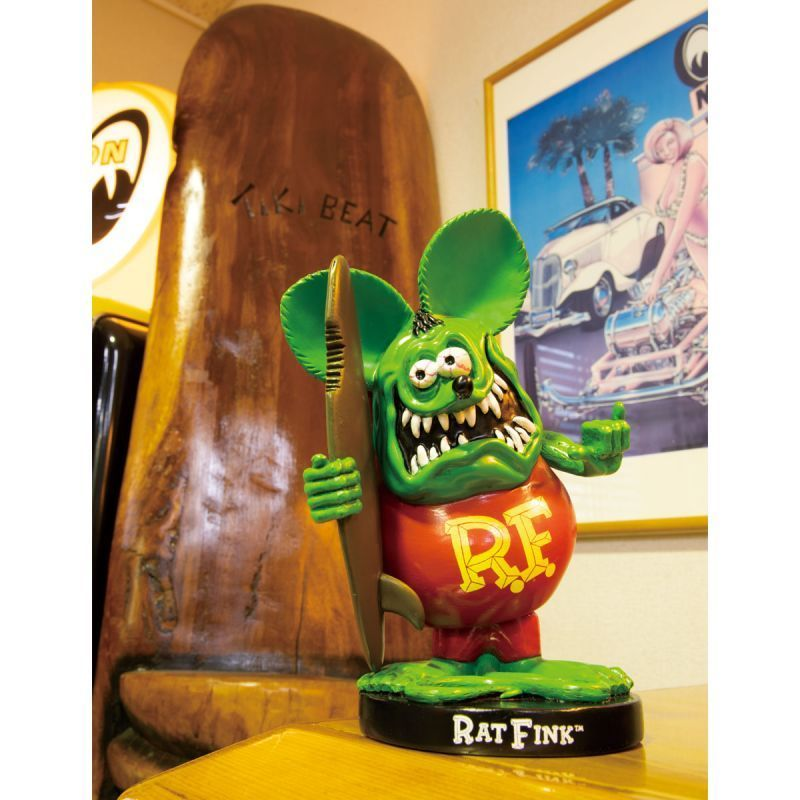Rat Fink Bobbing Doll with Surfboard [RAF560]