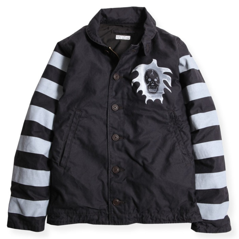 GHOST JACK JACKET (BLK)