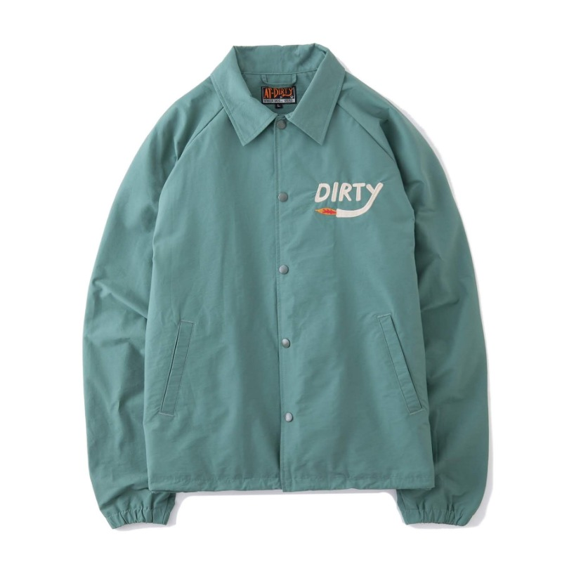 DIRTY FIRE COACH JACKET (MINT)