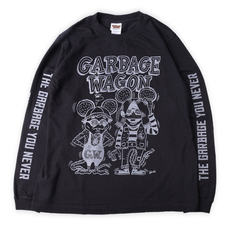 GARBAGEWAGON : Long TEE (Kuckle Design)