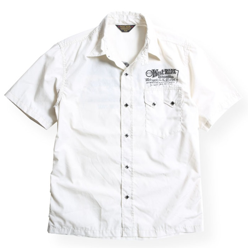 SNAP WORK SHIRTS / OFF