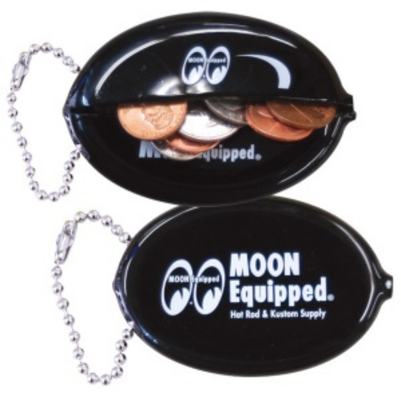 MOON Equipped Oval Coin Case [MQG034]