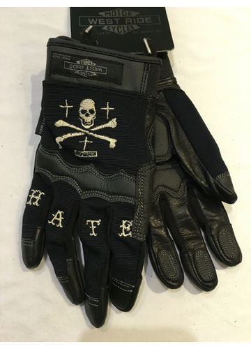 13 - 02 NYLON RIDING GLOVE ( L )