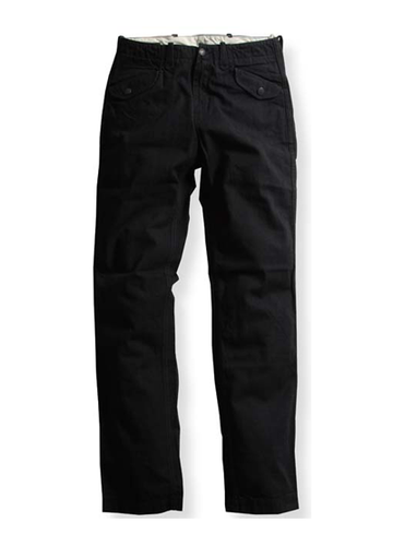 W-FLAP TAPERED PANTS
