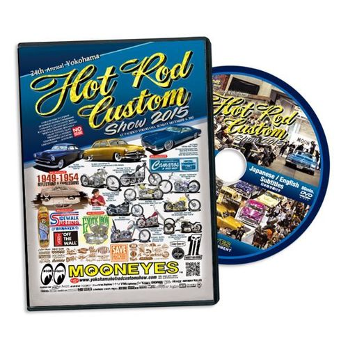 24th Annual Yokohama Hot Rod Custom Show 2015 DVD [MGDVDHR15]