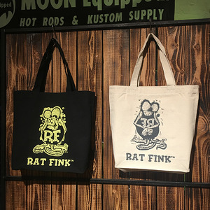 Rat Fink Color Tote Bag [ RAF416 ] 3색상 (500g)
