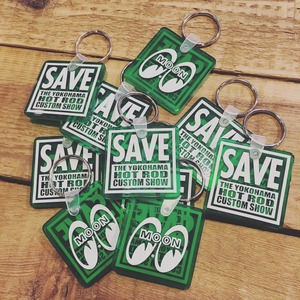 SAVE THE YOKOHAMA HOT ROD CUSTOM SHOW KEYRING [ MKR144GR ]