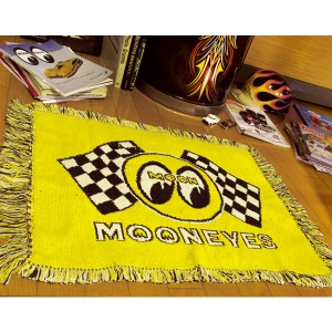 Checker MOON RUG MAT [MG624YE]