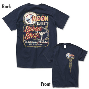 MOON Equipped Speed Shop T [ MQT136BK ]