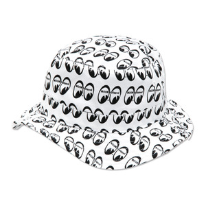 MOON Equipped Bucket Hat [ MQC010BK ]