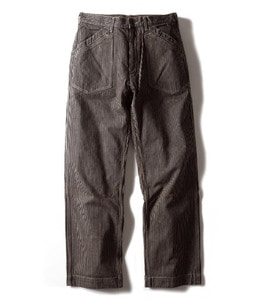 WORKERS PANTS (BROWN HICKORY)