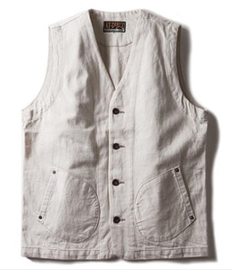 WORKERS VEST (IVORY)