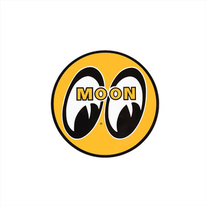 MOON EYEBALL STICKER 13cm [ DM009 ]