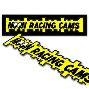 MOON Racing Cams Sticker [ DM171YE ]