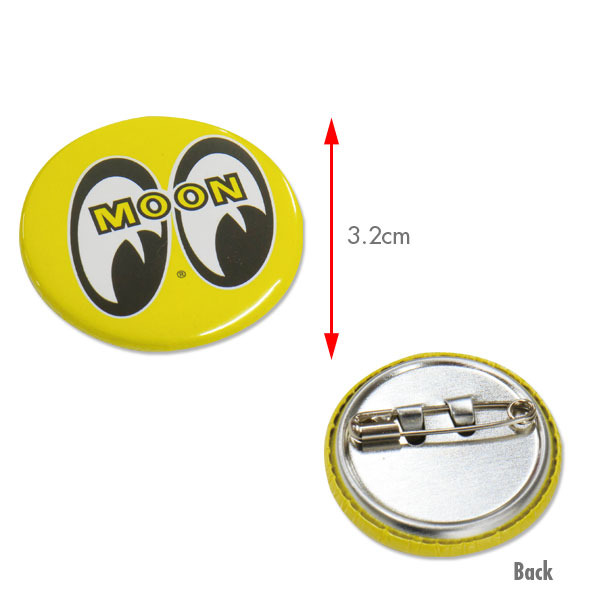 MOON Can Badges 3.2 cm [ MGX001 ]