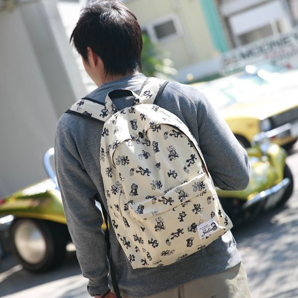 Felix Patterned Back Pack [ KGAZF408 ]