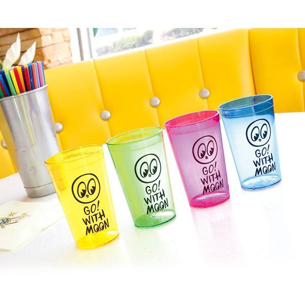 Go! with MOON Plastic Cup (Set of 4) [ MG807 ]