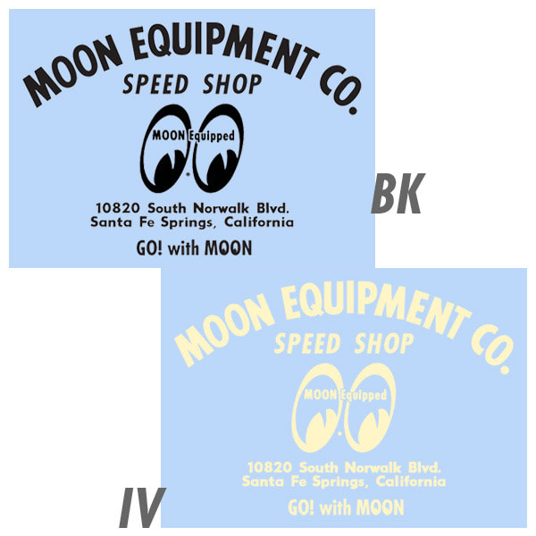 MOON Speed ​​Shop Decal [ MQD021 ]