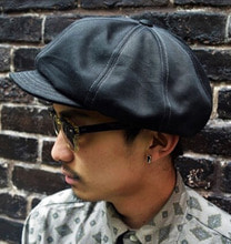 OLD CASQUETTE (BLACK / IVORY)